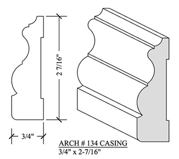 Casing Arch# 132